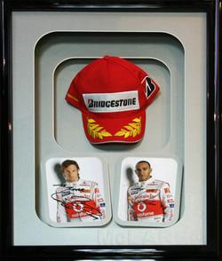Grand Prix Winners Framed Cap