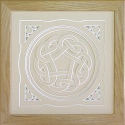 Celtic Mount Cutting Design.