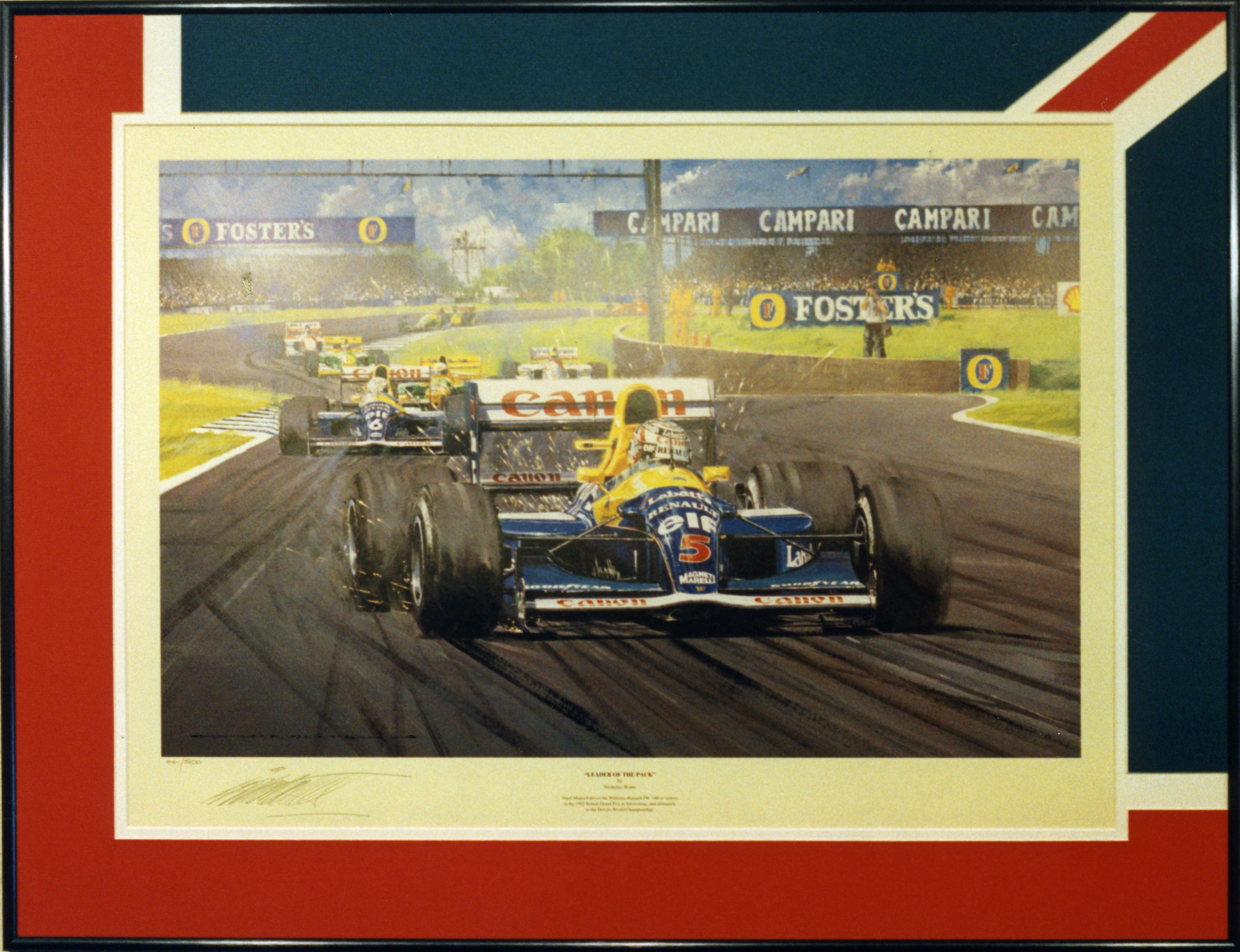 Nigel Mansell British Grand Prix