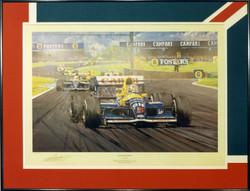 Nigel Mansell British Grand Prix