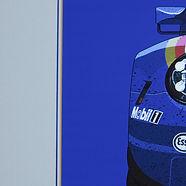 Rothmans Porsche detail.