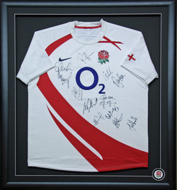 England Rugby Shirt with Logo.