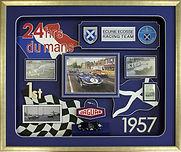 Ecurie Ecosse Le Mans 1957 creative framing design