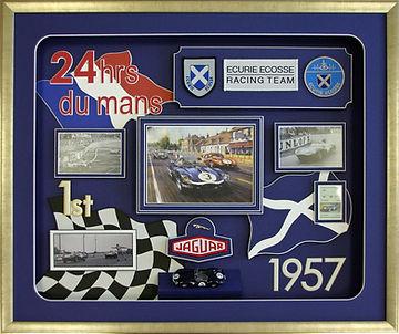 Le Mans Ecurie Ecosse Jaguar D Type