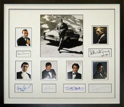James Bond Autograph Collection.