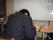 久米川の進学塾双輪学館の授業風景