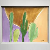 Cacti in Gold