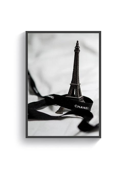 Chanel Eiffel Print
