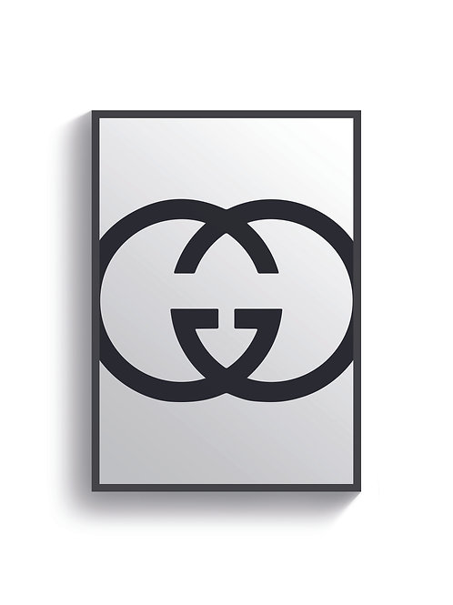 Gucci Logo Print