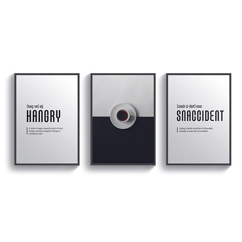 Set of 3 Hangry Snaccident