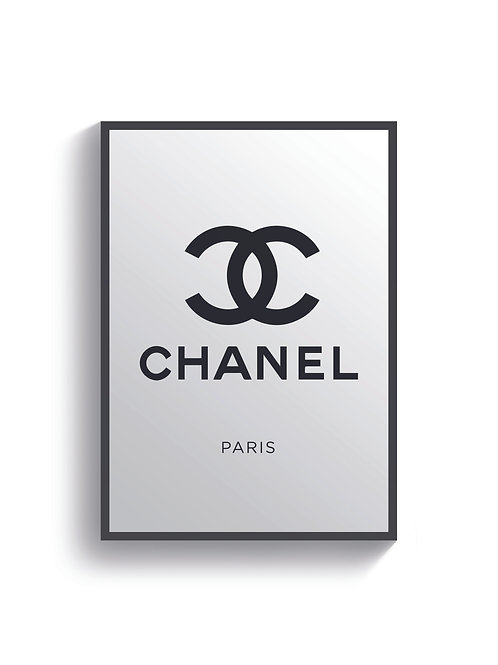 Chanel Paris Print