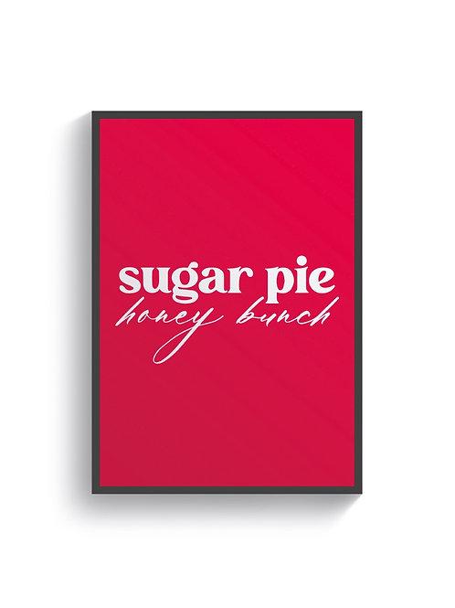 Sugar Pie Honey Bunch - Hot Pink