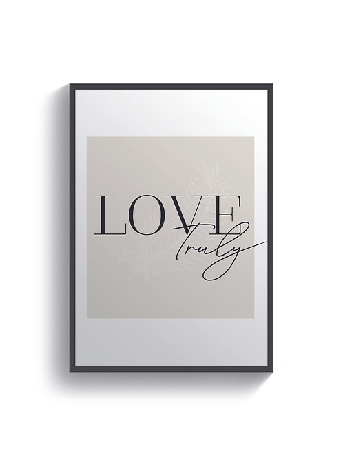 Love Truly