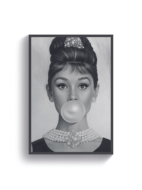 Audrey Hepburn Bubble