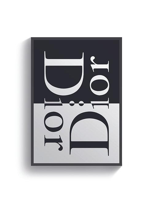 Dior Mono Print