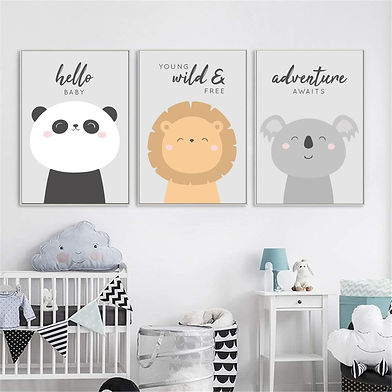 Baby Nursery Wall Prints
