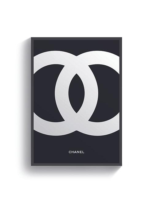 Chanel Logo Print