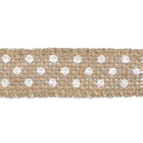 Лента декоративная JUTP-25, цвет: № 3, 25мм. Гамма
