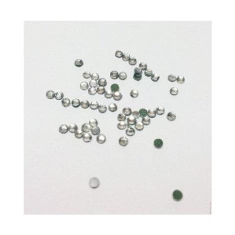 Стразы акриловые клеевые арт.: RS, размер: 3,9мм, цвет: перламутровый. ZLATKA