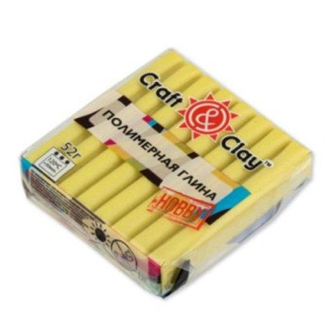 """Полимерная глина """"Craft&Clay"""" жёлтый, 52г"""