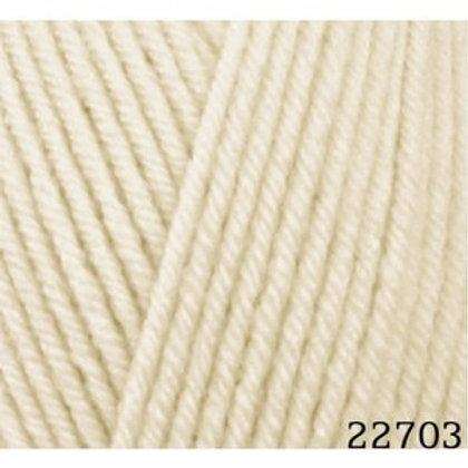 HiMALAYA HAYAL lux wool 227-03 экрю 100г/250м