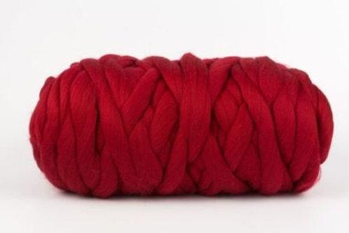 Пряжа из Троицка Пастила-красный- 50м/500г 100% шерсть