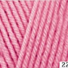 HiMALAYA HAYAL lux wool 227-31 розовый 100г/250м