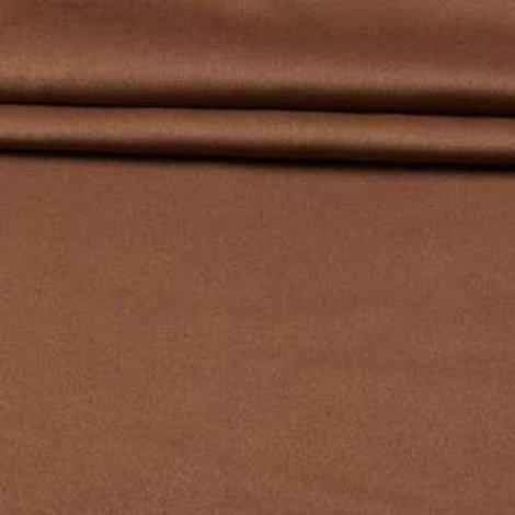 Ткань портьерная блэкаут двухсторонняя светло коричневая высота 2м 80 см