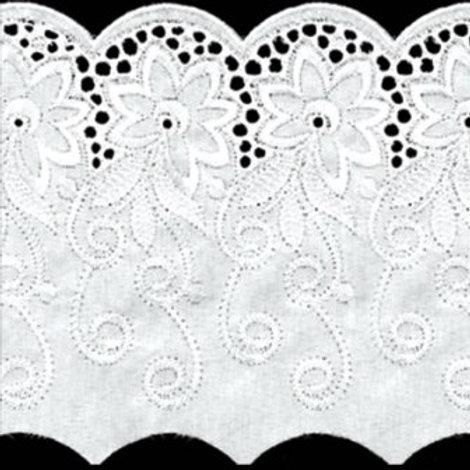 "Шитье ""Гамма"" арт.487, цвет: белый, ширина: 145мм"