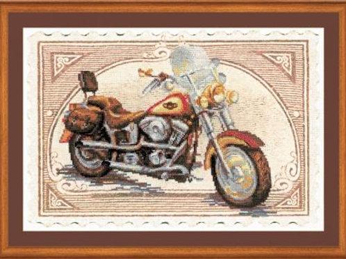 """Вышивка крестом """"Harley-Davidson"""", 0032 РТ"""