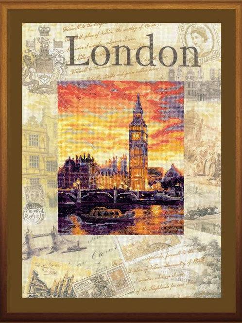 """Вышивка крестом """"Города мира. Лондон"""", 0019 РТ"""
