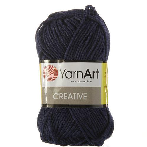 YarnArt creative  - 241 - т. синий 50г/85м