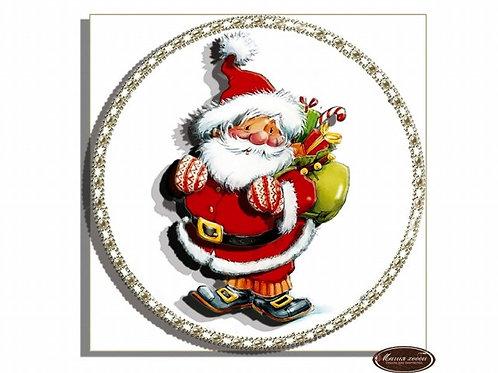 """Папертоль """"Дед мороз с подарками"""""""