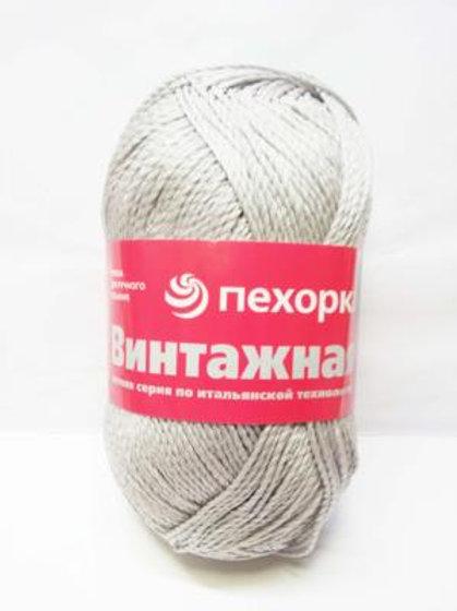 """Пехорка """"Винтажная"""" - 08 - св. серый 100г/240м"""
