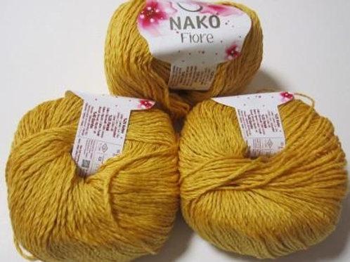 NAKO Fiore  - 11243 - желтый 50г/150м