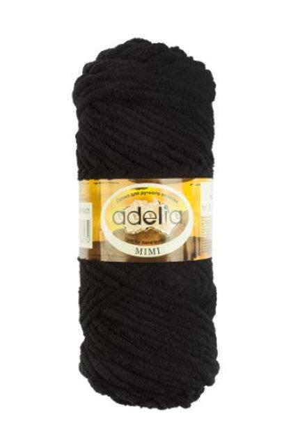 Adelia Mimi 01 , чёрный, 100 г/80м, полиэстр 100%