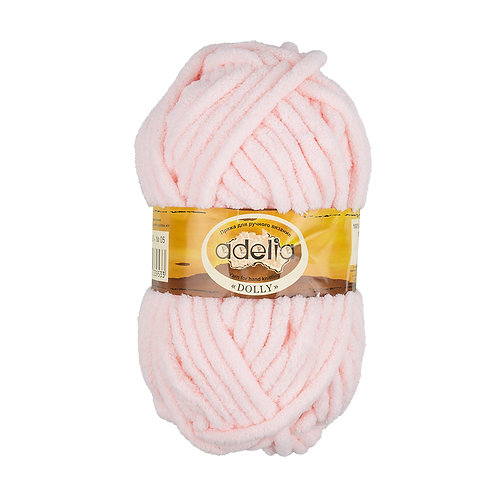 Adelia  Dolly 05 св.розовый, 100 г/40м, полиэстр 100%