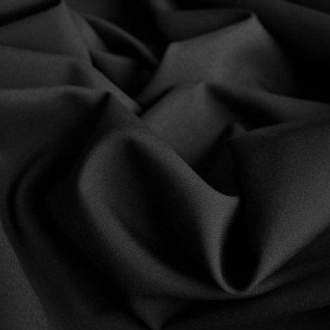 Ткань Габардин чёрный