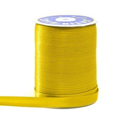Косая бейка GK-15P цвет: жёлтый, ширина 15 мм Гамма