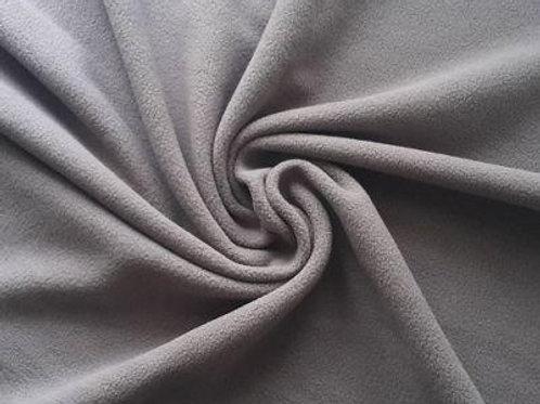 Ткань флис серый ширина: 1м 50см