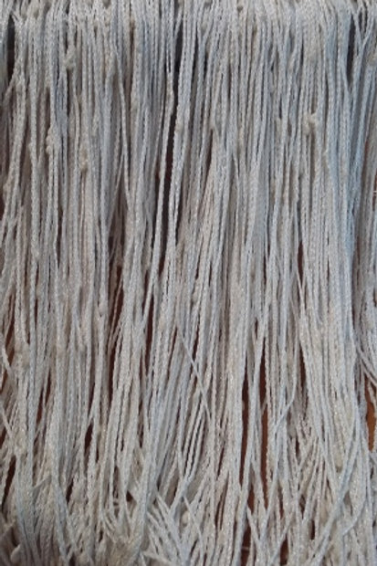 Шторы верёвочные цвет: белый размер: 300х300 см полиэстр 100% Турция