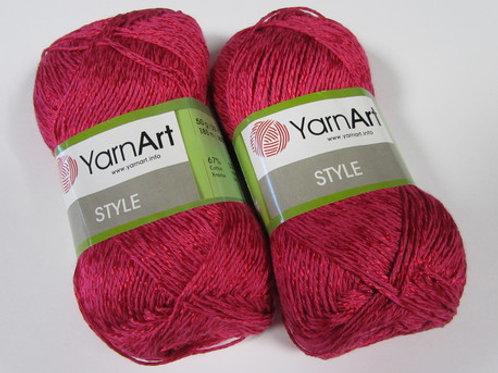 YarnArt stile  - 661 - рубин 50г/185м
