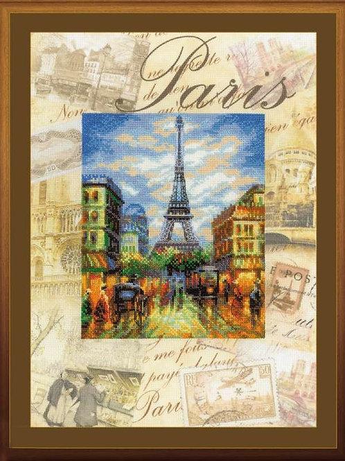 """Вышивка крестом """"Города мира. Париж"""", 0018 РТ"""