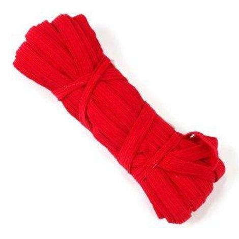 """Лента эластичная (продержка) ширина: 8мм, цвет: красный, длина: 10м, """"Гамма"""""""