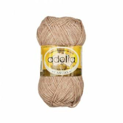 Adelia Casual-06-сиреневый, 50г/130м, 72% хлопок, 28% акрил