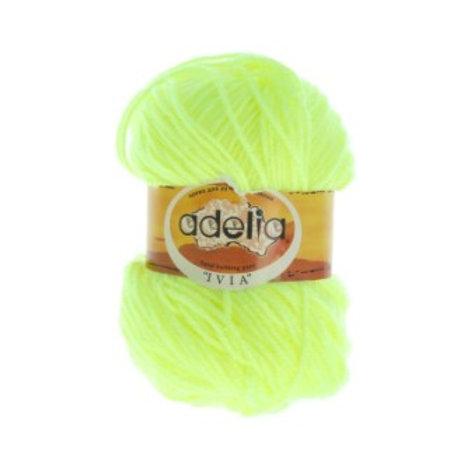 Adelia Ivia -108-жёлтый неон. 62,5г/150м, 100% акрил