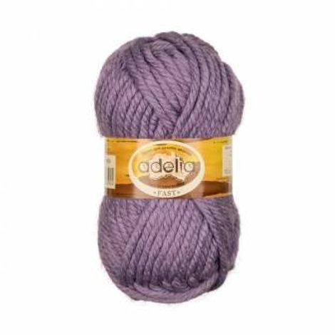 Adelia Fast-04-фиолетовый, 150г/45м, 78% акрил. 22% шерсть