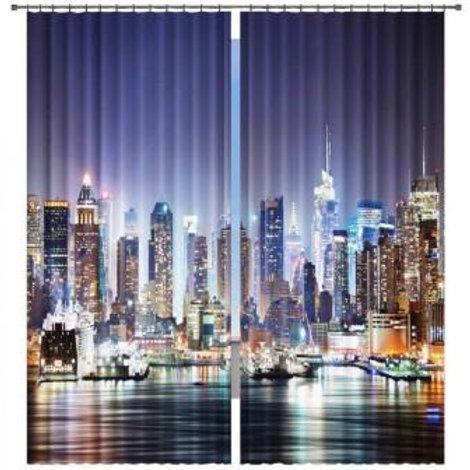 """Фотошторы """"Ночь"""" ширина: 280 см, высота: 260 см"""