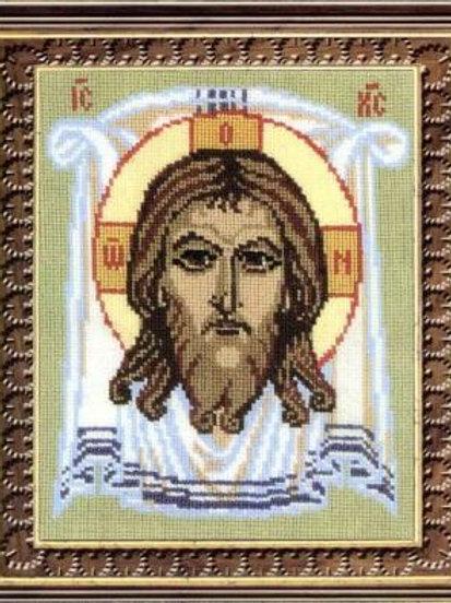 """Вышивка крестом Риолис 444 """"Спас Нерукотворный"""" 16х20 см"""