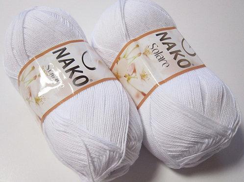 NAKO Solare  - 208 - белый 100г/380м